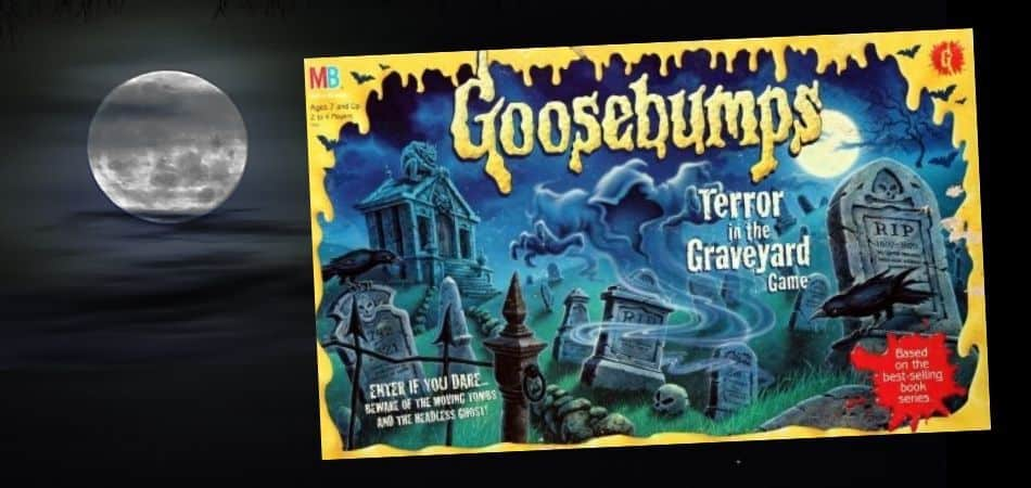 Goosebumps: Terror in the Graveyard Board Game