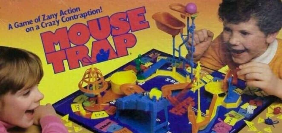 Mouse Trap 90s Board Game