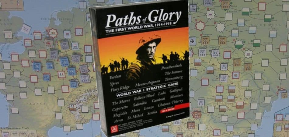 Paths to Glory Board Game