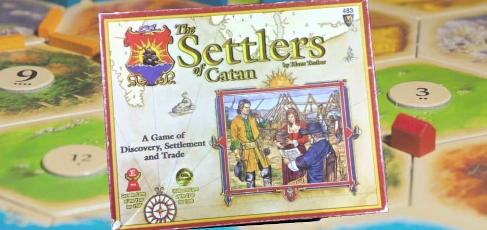 Settlers of Catan 1995 Board Game