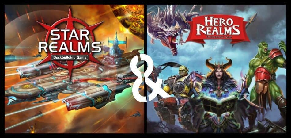 Star Realms & Hero Realms Board Games Logos and Art