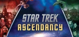 Star Trek: Ascendancy Board Game Logo and Art