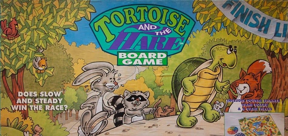 The Tortoise and the Hare Board Game