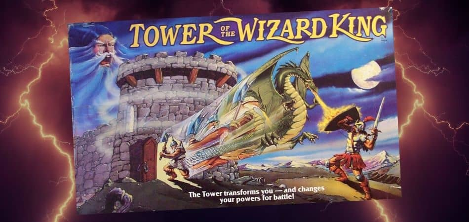 Tower of the Wizard King 90s Board Game