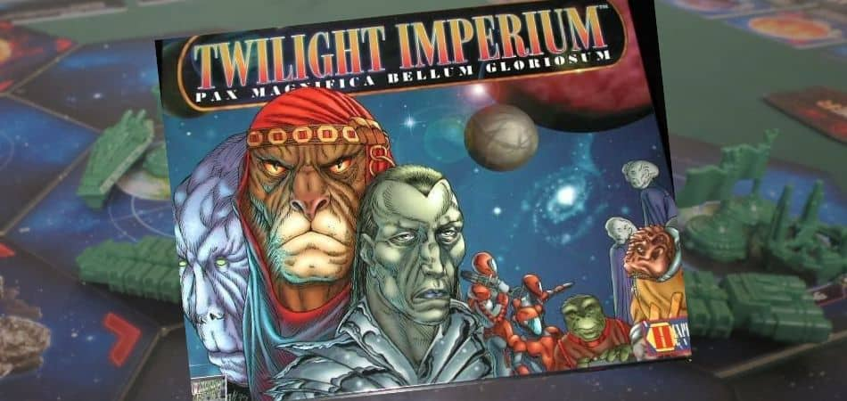 Twilight Imperium First Edition Board Game