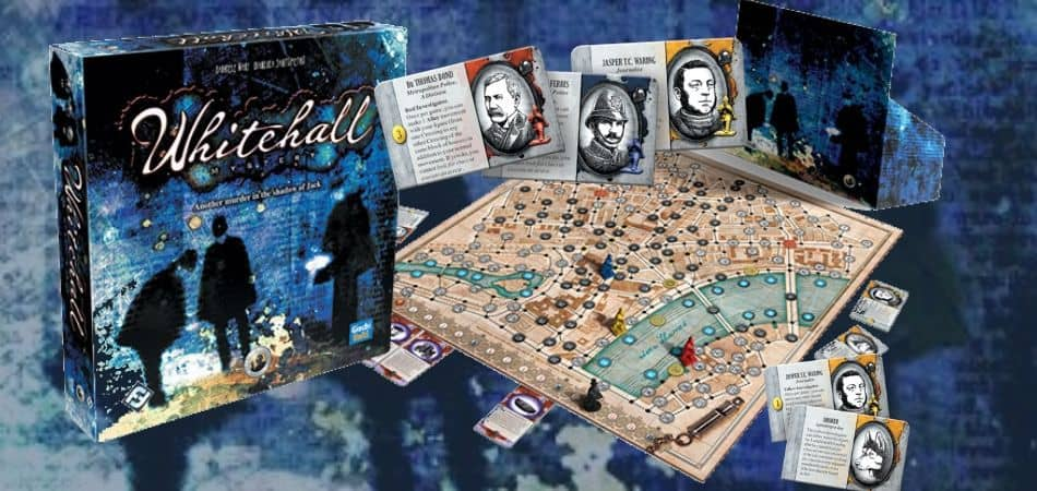 Whitehall Mysteries Board Game