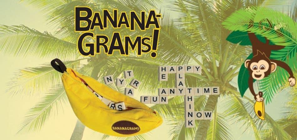 Bananagrams Travel Game