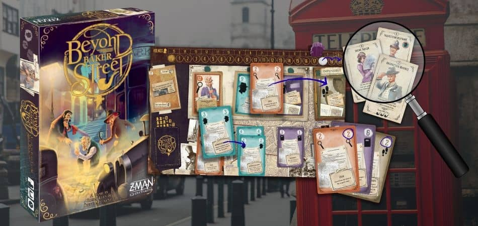 Beyond Baker Street Board Game