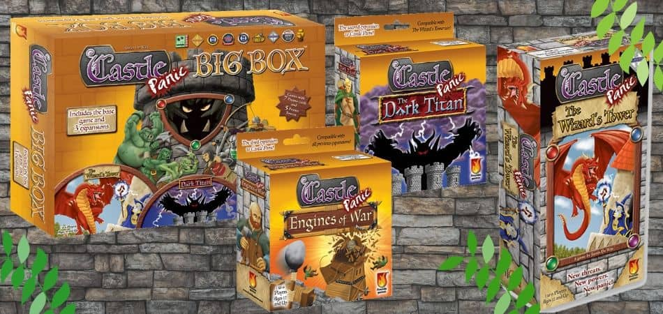 Castle Panic Board Game Expansions