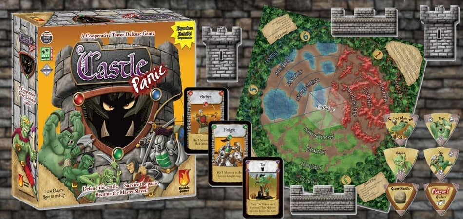 Castle Panic Board Game Unboxing