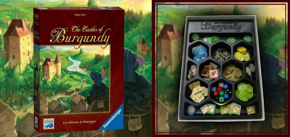 Castles of Burgundy Unboxing