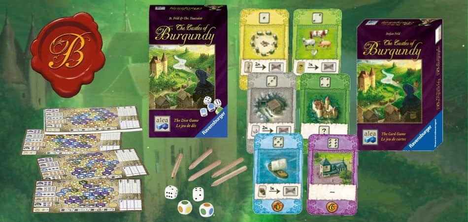Castles of Burgundy Versions