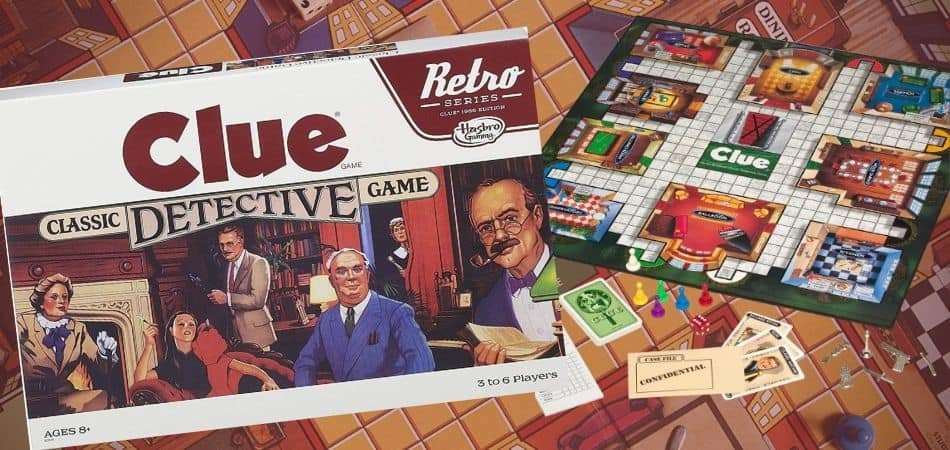 Clue Detective Board Game
