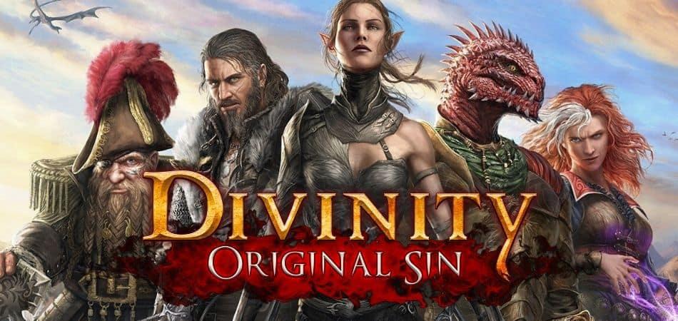Divinity Original Sin Board Game Logo and Art
