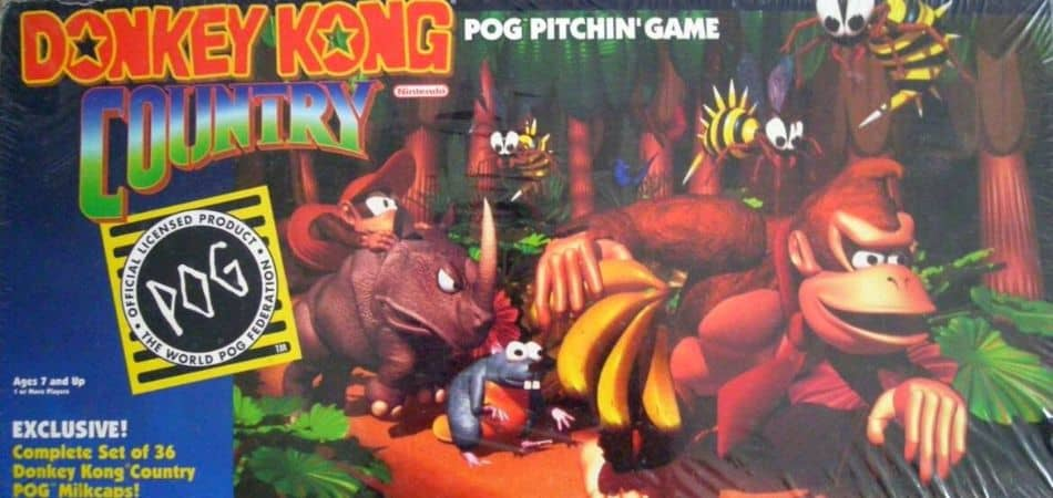Donkey Kong Country Board Game