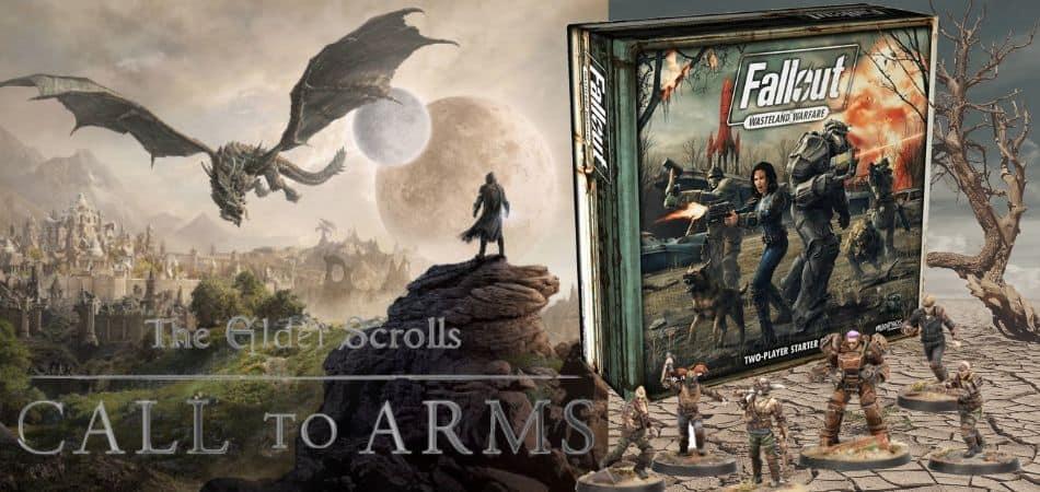 Elder Scrolls Fallout Board Game
