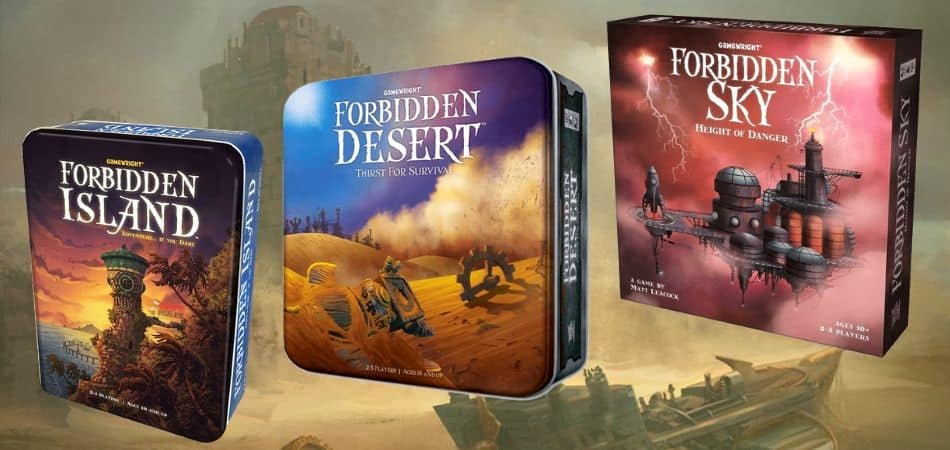 Forbidden Board Game Versions
