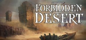 Forbidden Desert Board Game Logo Featured Image