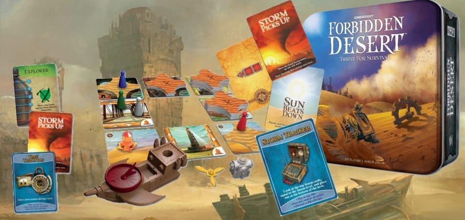 Forbidden Desert Unboxing