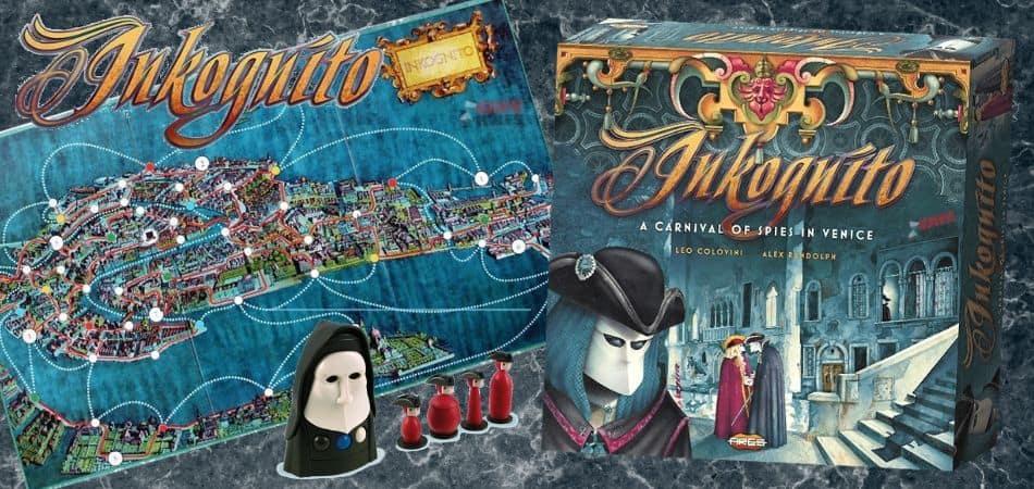 Inkognito Board Game