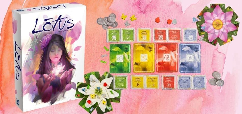 Lotus Board Game