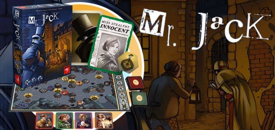 Mr Jack Board Game