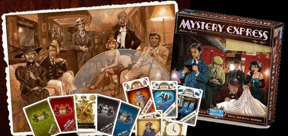 Mystery Express Board Game