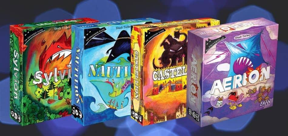 Onirim Board Games Versions