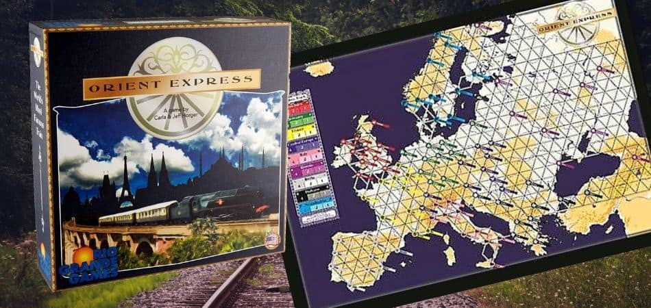 Orient Express Board Game
