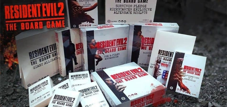 Resident Evil 2: Board Game Expansions
