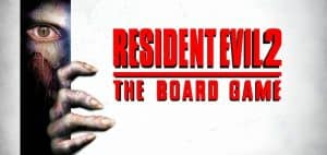 Resident Evil 2 Board Game Logo Featured Image