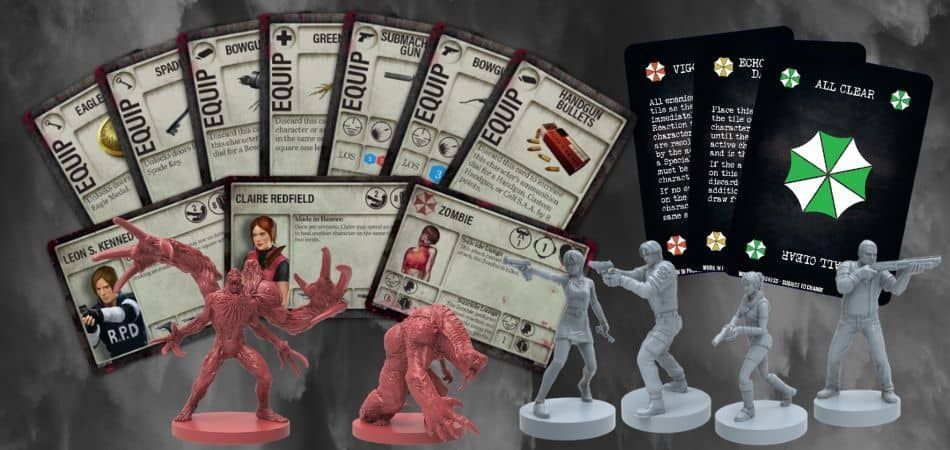 Resident Evil 2: Board Game First Game