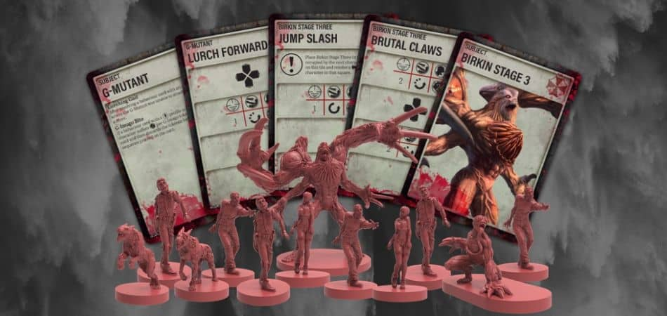Resident Evil 2: Board Game How To Play