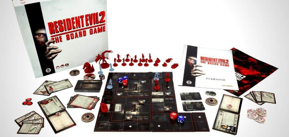 Resident Evil 2: Board Game Unboxing