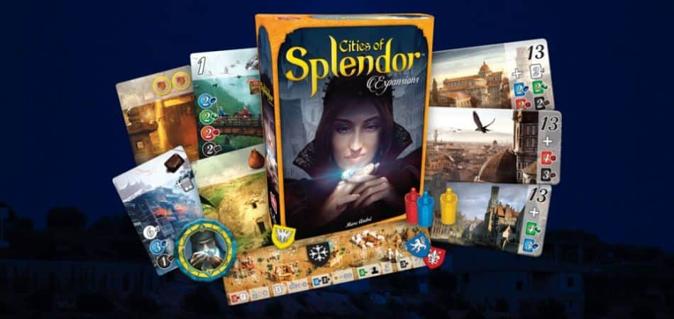 Cities of Splendor Board Game Expansion