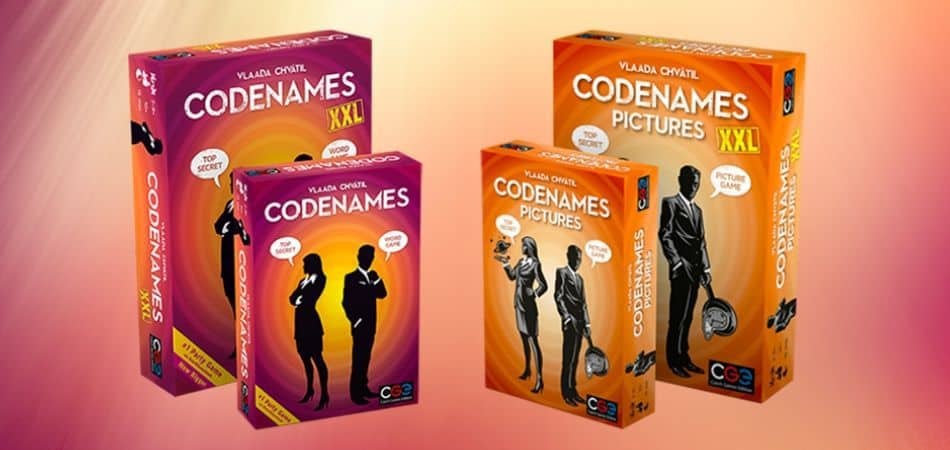 Codenames Board Game Expansions - XXL and Pictures