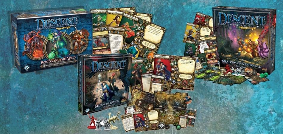 Descent: Journeys in the Dark Board Game Expansions