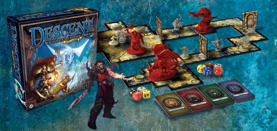 Descent: Journeys in the Dark Board Game