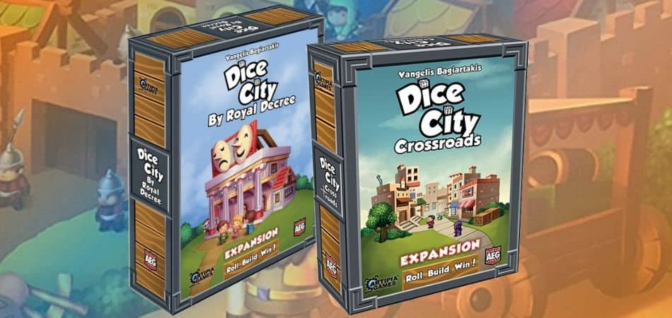 Dice City Board Game Expansions