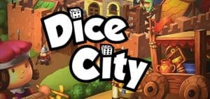 Dice City Board Game Logo Featured Image