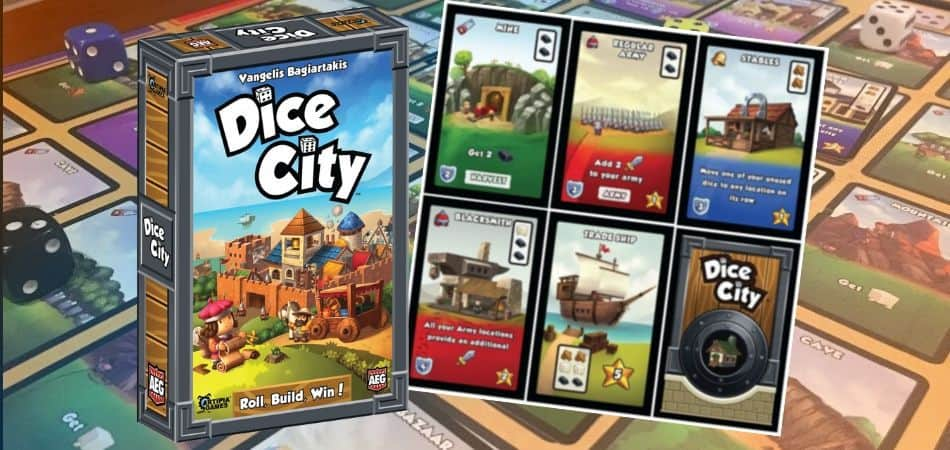 Dice City Board Game Overview