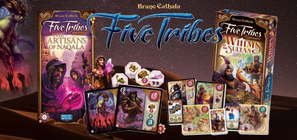 Five Tribes Board Game Expansions