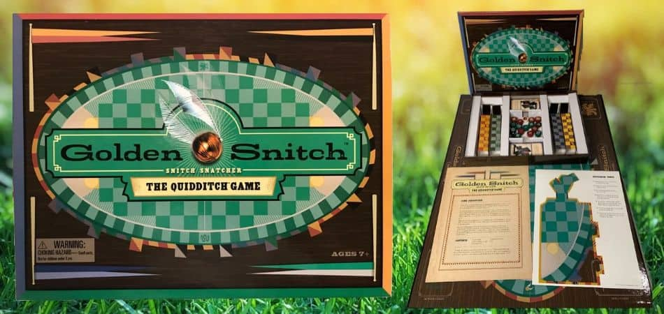 Golden Snith Quidditch Board Game