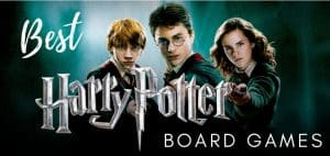 Harry Potter Board Games Logo Featured Image