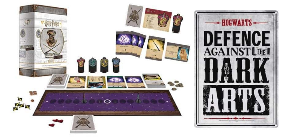 Harry Potter Hogwarts Battle Defense Box and Components