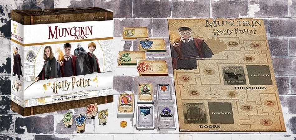 Harry Potter Munchkin Deluxe Board Game