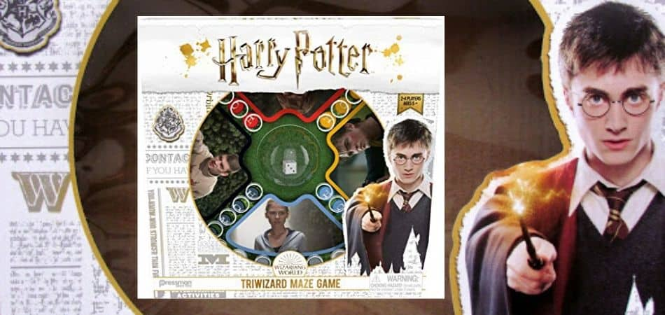 Harry Potter Triwizard Maze Game