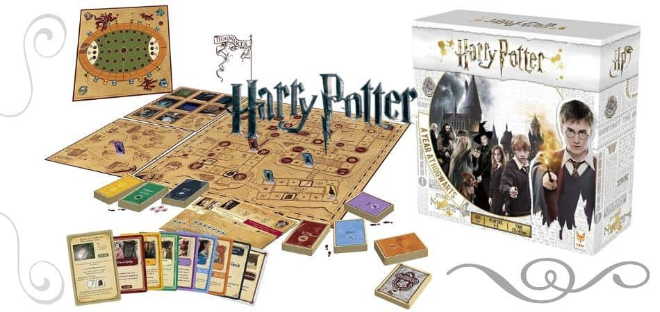 Harry Potter Year at Hogwarts Board Game