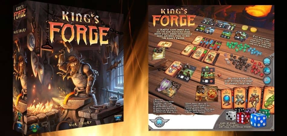 King's Forge Board Game How to Play