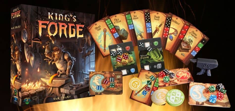King's Forge Board Game Unboxing